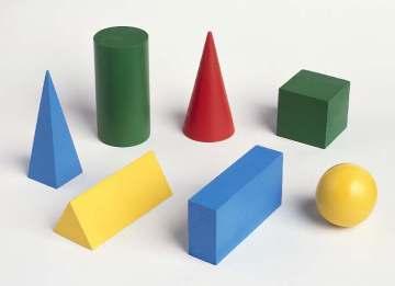 cube, sphere, cone - building blocks of sculpture